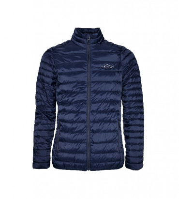 LIGHT DOWN JACKET WOMAN BLUE