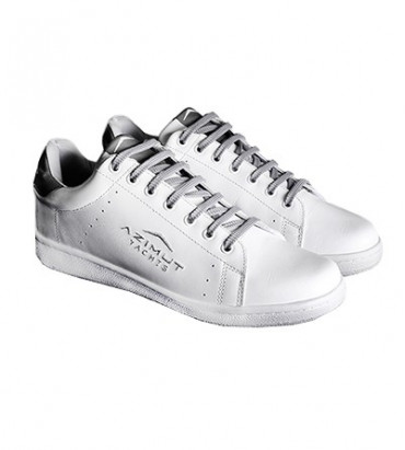 SNEAKERS LEATHER WHITE