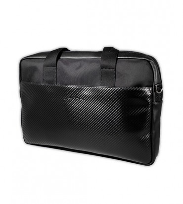LAPTOP BRIEFCASE LEATHER BLACK